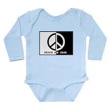 Peace Or Else Long Sleeve Infant Bodysuit