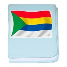 Druze Flag baby blanket