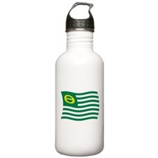Ecology Movement Flag Water Bottle