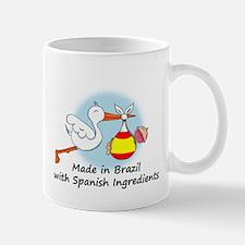 Stork Baby Spain Brazil Mug
