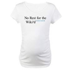 No Rest for the Wiki'd Shirt