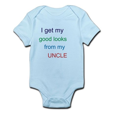 good looks from my UNCLE Infant Bodysuit