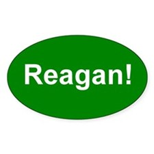 Reagan! Oval Decal