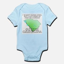 Got here fast! South Carolina Infant Bodysuit