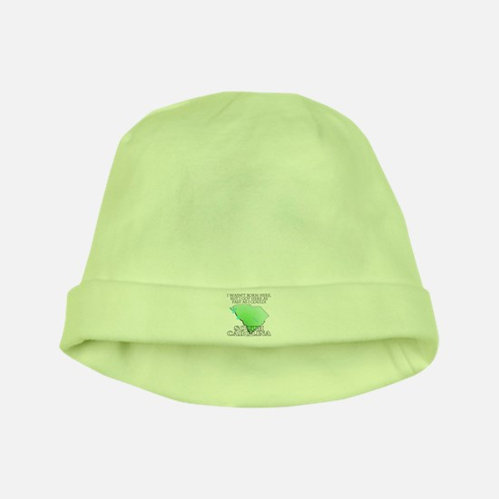 Got here fast! South Carolina baby hat