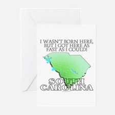 Got here fast! South Carolina Greeting Cards (Pk o