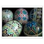 Pysanky Group, Blues Small Poster
