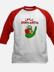 Little Bookworm Kids Baseball Jersey