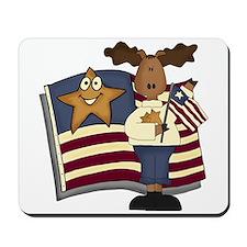 Patriotic Moose Mousepad