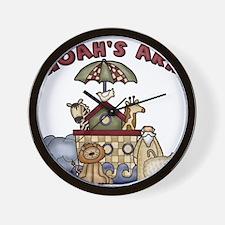 Noah's Ark Wall Clock