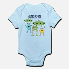 Outer Space Infant Bodysuit