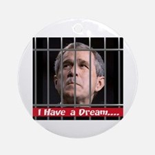 Impeach Bush Ornament (Round)