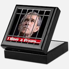 Impeach Bush Keepsake Box