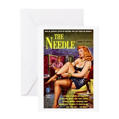 The Needle Greeting Card