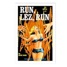 Run, Lez, Run Postcards (Package of 8)