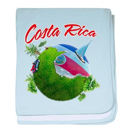 Costa Rica baby blanket