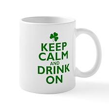 Keep Calm and drink on Irish Mug