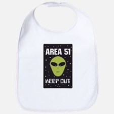 Area 51 Keep Out Bib