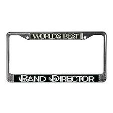 World's Best Band Director License Plate Frame