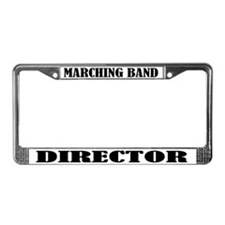 Marching Band License Plate Frame