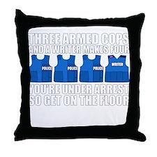 Funny Javier Throw Pillow