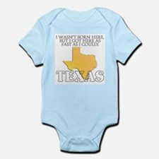 Got here fast! Texas Infant Bodysuit