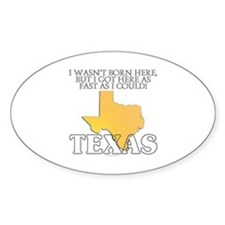 Got here fast! Texas Decal