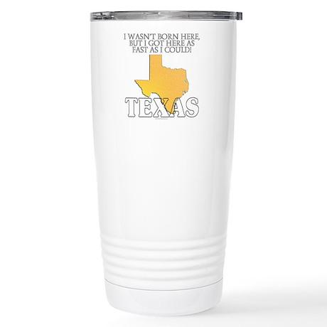 Got here fast! Texas Stainless Steel Travel Mug