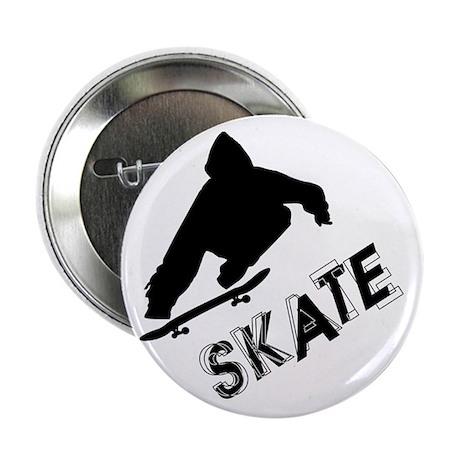 "Skate Ollie Sillhouette 2.25"" Button (100 pack)"