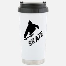 Skate Ollie Sillhouette Thermos Mug
