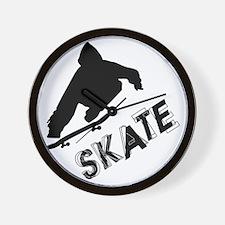 Skate Ollie Sillhouette Wall Clock