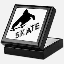 Skate Ollie Sillhouette Keepsake Box
