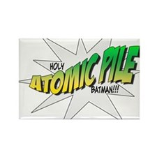 Holy Atomic Pile Rectangle Magnet