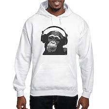 DJ MONKEY grey Hoodie