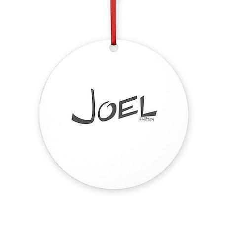 Joel Ornament (Round)