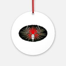 Whitetail buck Ornament (Round)