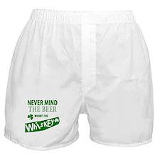 St Patricks Wheres the Whisky Boxer Shorts