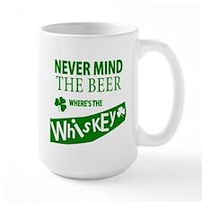 St Patricks Wheres the Whisky Mug