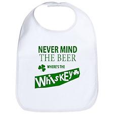 St Patricks Wheres the Whisky Bib