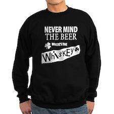 St Patricks Wheres the Whisky Sweatshirt