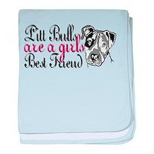 Girls Best Friend baby blanket
