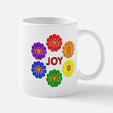 Rainbow Flowers Mug