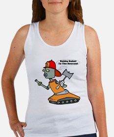 Robot Firefighter Women's Tank Top