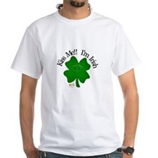 4 Leaf- Kiss me!! I'm Irish Shirt