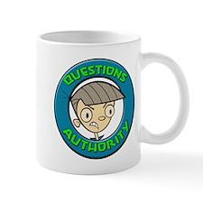 Questions Authority Figures Mug