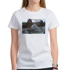 Renoir The Louvre & Nature Women's T-Shirt