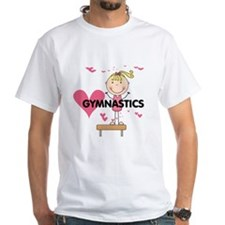 Blond Girl Gymnast Shirt