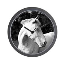whitehorse03 Wall Clock - clean version