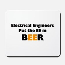 EE in BEER Mousepad