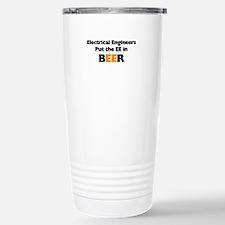 EE in BEER Stainless Steel Travel Mug